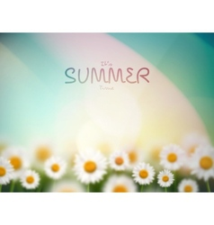 Its summer time vector