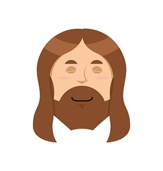 Good Jesus Sweet Christ Spiritualized religious vector image