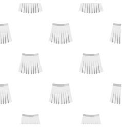 tennis female skirt pattern flat vector image
