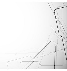 abstract and modern lines vector image