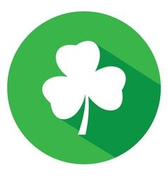 shamrock logo flat vector image