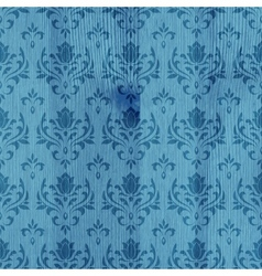 Wooden background with pattern vector image vector image