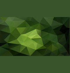 Abstract irregular polygon background green vector