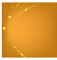 Abstract orange background with mesh and glows vector