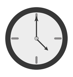 clock time hour icon vector image