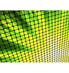 light 3d mosaic vector image