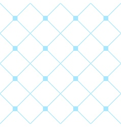 Light Blue Square Diamond Grid White Background vector