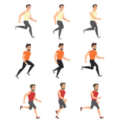love of running vector image