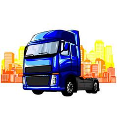 modern flat urban vehicle logo vector image