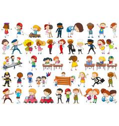 Set children character vector