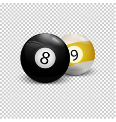 This picture represents a numbered balls vector