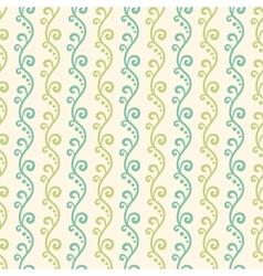 Green garden seamless pattern Abstract texture vector image