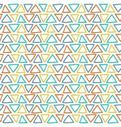 Unique abstract random seamless pattern vector image
