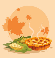 apple pie icon vector image