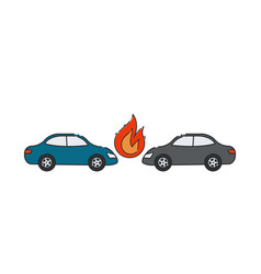 automobile insurance vector image