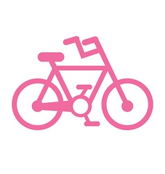 Bicycle design vector