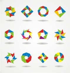 Colorfull Logo Template vector image