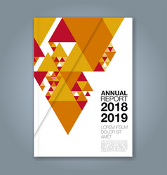 Cover annual report 1132 vector