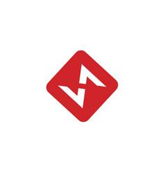Modern and elegant s letter initials logo design vector