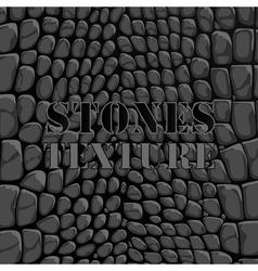 Stones texture vector