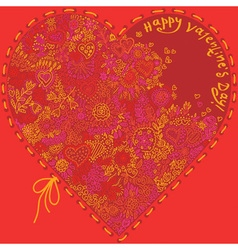 Beautiful valentine vector image vector image