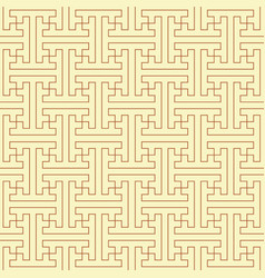 traditional japanese pattern vector image