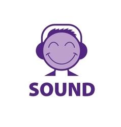 logo sound vector image vector image