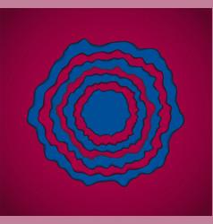 Blue - pomegranate backgroundl vector