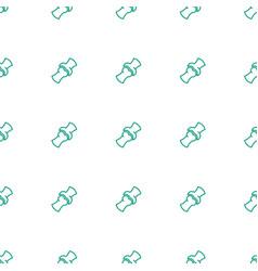 bone icon pattern seamless white background vector image