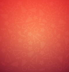 Colorful Christmas Background Pattern vector image