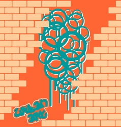 Cool Graffiti vector image