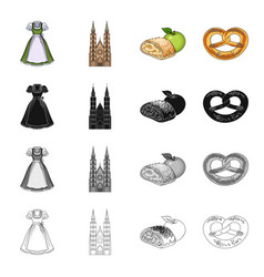 Dress apron blouse and other web icon in vector