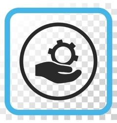 Engineering Service Icon In a Frame vector image