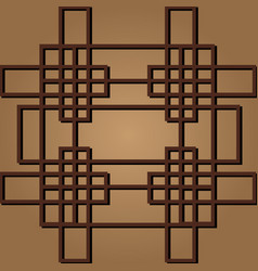 korean traditional pattern vector image