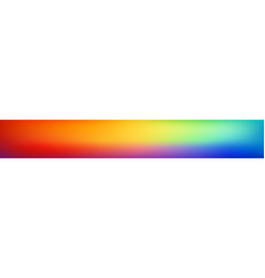 panoramic smooth and blurry colorful gradient vector image