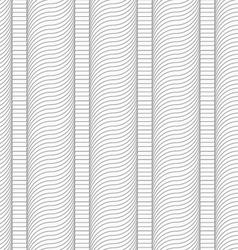 Slim gray hatched wavy columns vector
