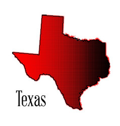 Texas halftone vector