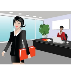 busy day vector image vector image