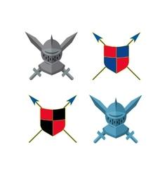 Knight icon vector image