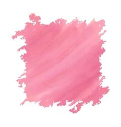 Watercolor deep pink vector image