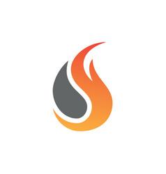 fire art lgo vector image