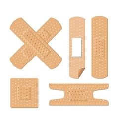 medical bandages vector image
