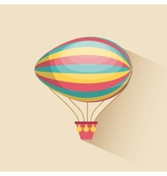 air balloon design vector image