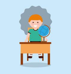 back to school people vector image