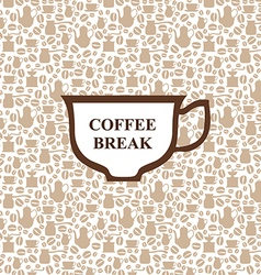 Coffee breack vector