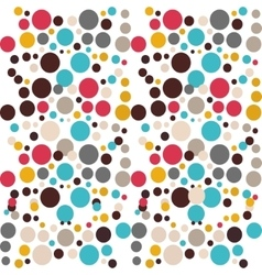 Colored pattern of circles Ideal for vector