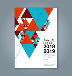 Cover annual report 1141 vector