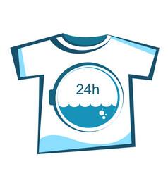 laundry washing design vector image