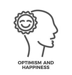 Optimism and happiness vector