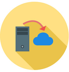 Server to cloud transfer vector